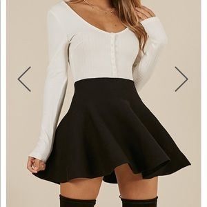 American Apparel Mini Flare Skirt